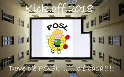 Kick Off 2019: dove c'è POSL… c'è casa!!!
