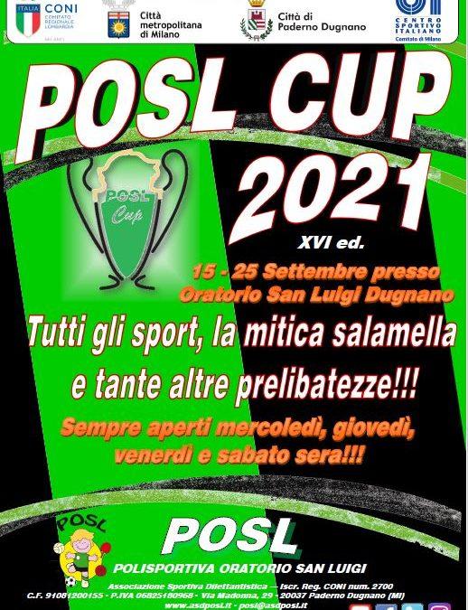 Torna la POSL CUP!!!!