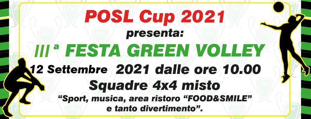 GREEN VOLLEY POSL 2021: terza edizione – 12 Settembre 2021