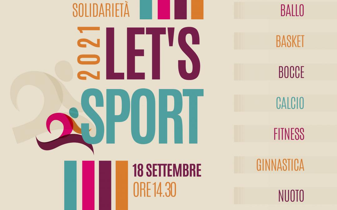 18 settembre '21: Let's sport! La POSL alla festa dello sport della Città di Paderno Dugnano